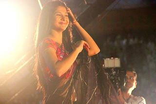 kumud at surat for navratri