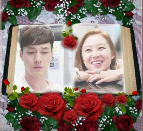 MASTER'S SUN KDRAMA Hintergrund with a bouquet, a rose, and a camellia titled master's sun imikimi
