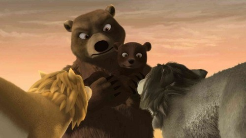 Alpha and Omega 2: a howl-iday adventure Hintergrund entitled meet the bears