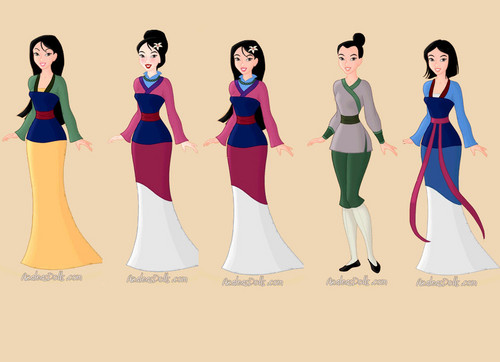 Mulan wallpaper titled mulan
