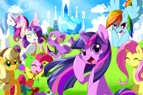 My Little Pony wallpaper possibly containing anime called my little pony