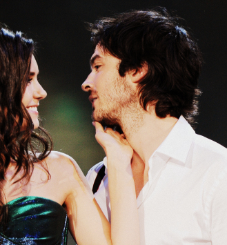 Ian Somerhalder and Nina Dobrev wallpaper with a bridesmaid and a concert titled nina and ian