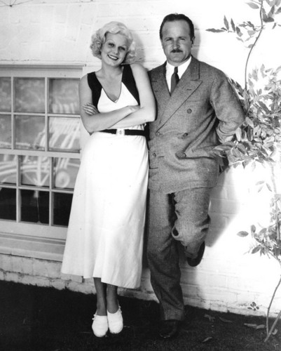 beroemdheden who died young achtergrond with a bridesmaid entitled paul bern and jean harlow