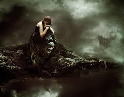 Sad Songs wallpaper titled sad woman