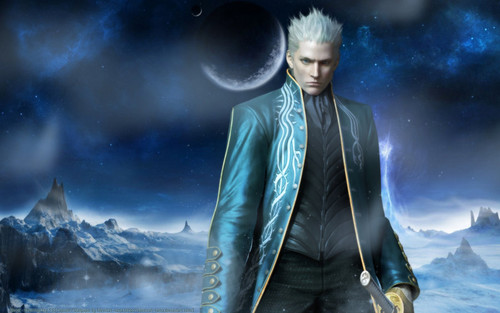 Vergil Yamato Sword Hd Wallpaper: Vergil Images Vergil Photo HD Wallpaper And Background