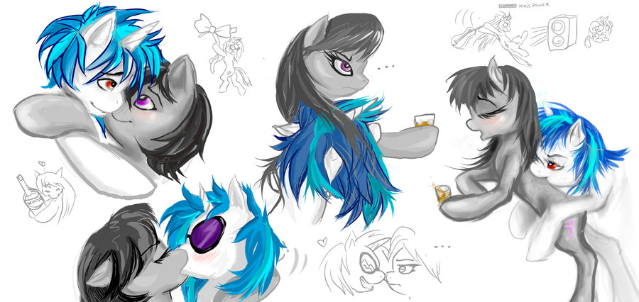 Mlp Fim Ship And Couples Images Vinyl X Octaiva Wallpaper