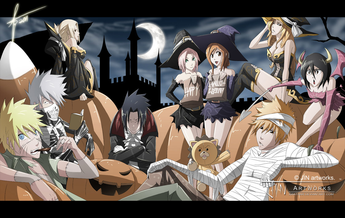 Happy Halloween    - Bleach Anime Photo (35968207) - Fanpop
