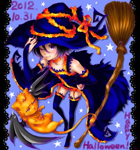 Happy Halloween Wallpaper Anime