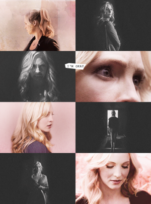"""I'm not girly little Caroline anymore. I can handle myself."""