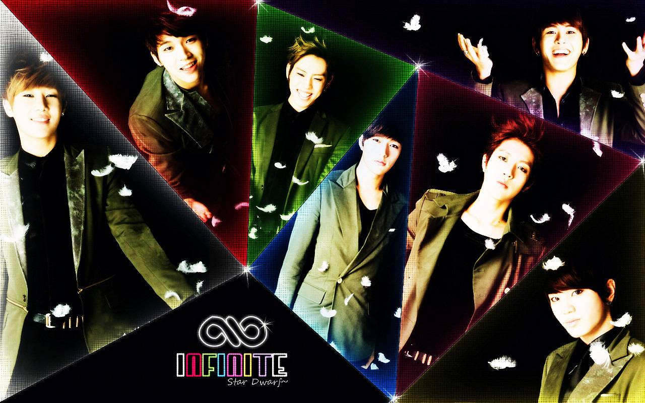 infinite kpop wallpaper 35918719 fanpop