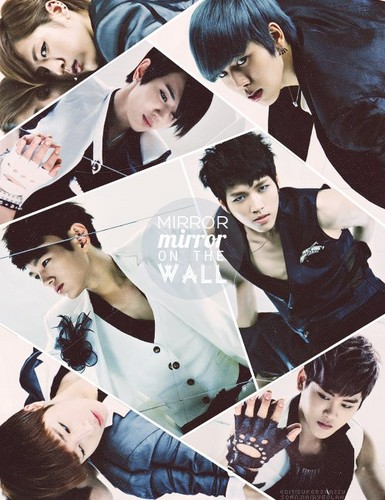 Kpop wallpaper probably containing a sign titled ♥ INFINITE! ♥