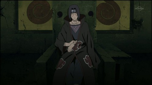 Uchihas wallpaper probably containing a surcoat and a business suit titled *Itachi Uchiha*