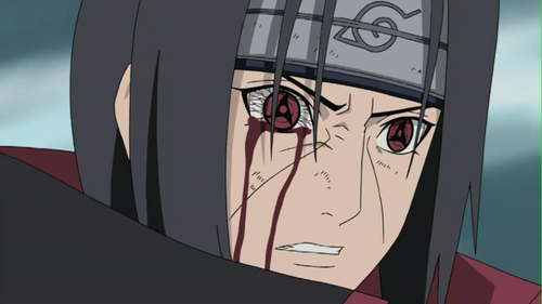 Uchihas Hintergrund probably containing a stained glass window and Anime called *Itachi Uchiha*