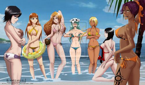 Fan Art of Sexy(Bleach) for fans of sexy anime girls. sexy bleach