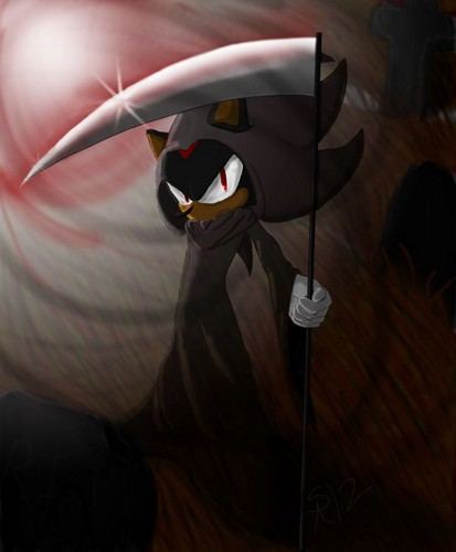 Shadow The Hedgehog kertas dinding titled .:The Shadow Reaper:.