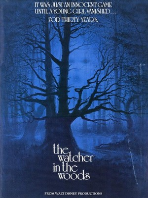 """The Watcher In The Woods"" Movie Poster"
