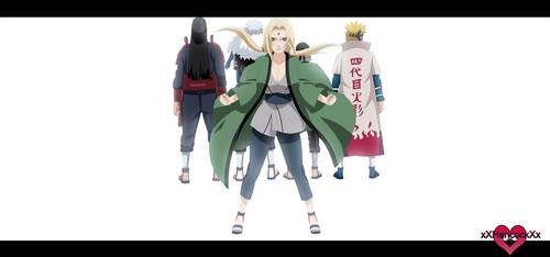 Naruto Shippuuden fond d'écran titled *Tsunade*