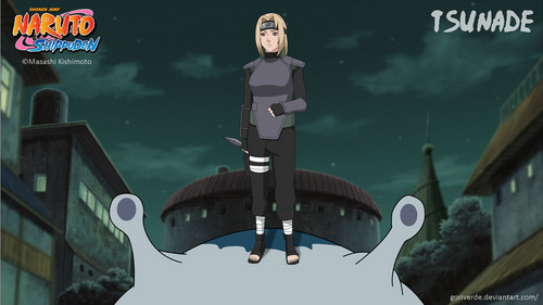 Naruto Shippuuden wallpaper possibly with a multiplex entitled *Tsunade*