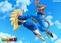 *Vageta v/s Bills* - dragon-ball-z photo