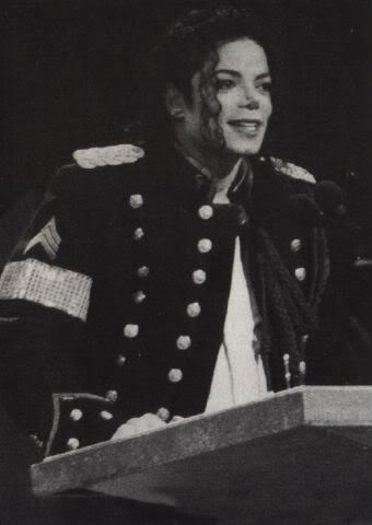 Michael Jackson wallpaper with a full dress uniform, regimentals, and dress blues entitled 1994 NAACP Image Awards