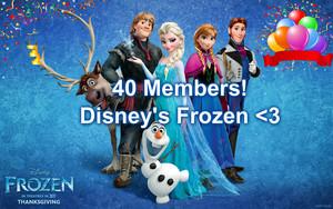 40 members