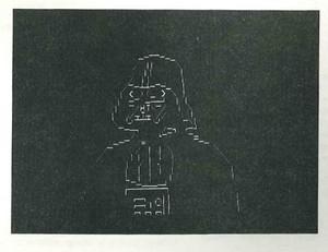 ASCII Darth Vader