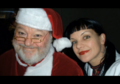 Abby and Santa - ncis photo
