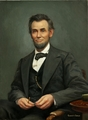 Abraham Lincoln painting - abraham-lincoln photo