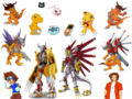 Agumon Digivolution  - digimon wallpaper