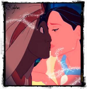 알라딘 and Pocahontas.