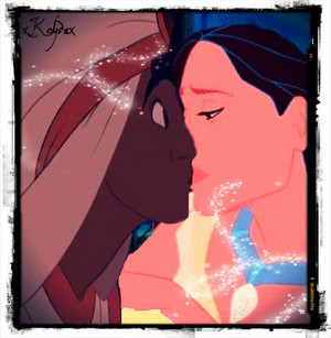 Aladdin and Pocahontas.