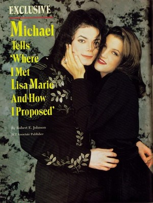 An مضمون Pertaining To Michael And Lisa Marie