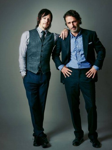 Andrew lincoln Hintergrund containing a business suit, a well dressed person, and a suit entitled Andrew & Norman