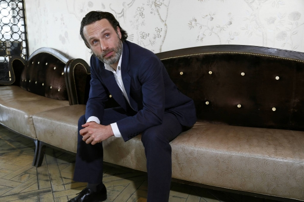 Andrew - The Times Photoshoot