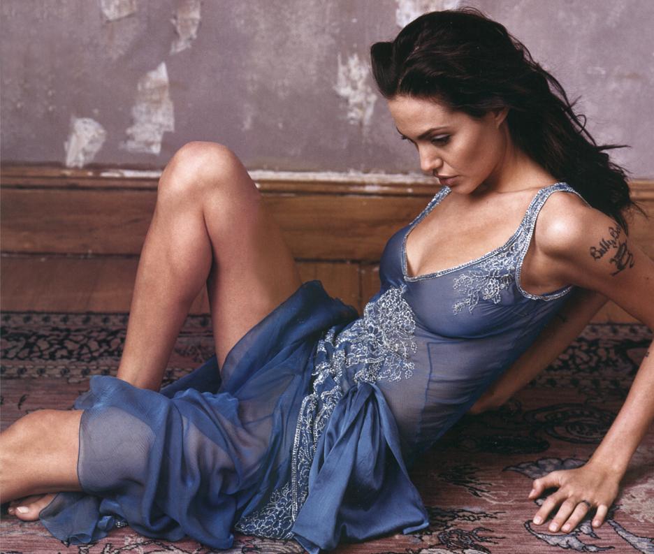 Retro And Vintage Pinup Models Angelina Jolie