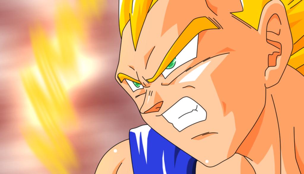 Angry Vegeta