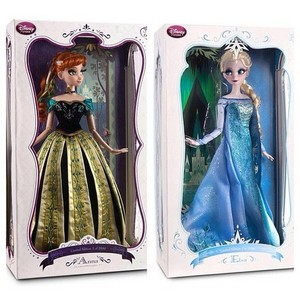 Anna and Elsa Limited Edition ディズニー Store ドール