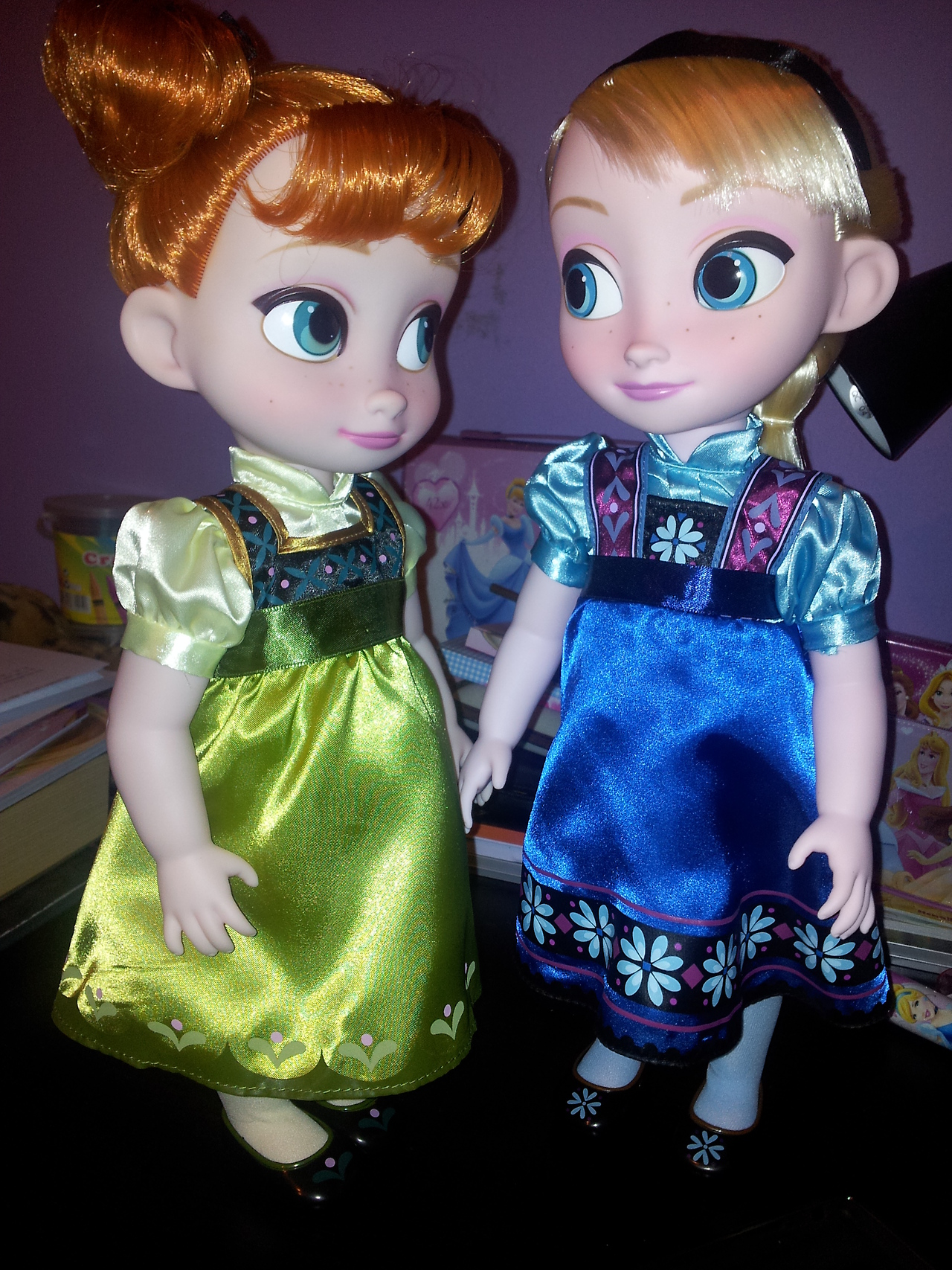 Anna And Elsa Toddler Dolls Elsa And Anna Photo