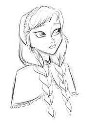 La Reine des Neiges fond d'écran called Anna