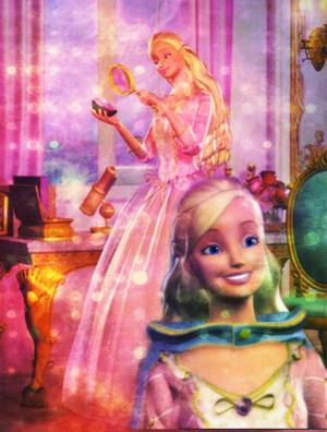 Anneliese's rosa, -de-rosa Princess vestido