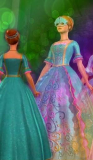 Aramina's Masquerade Ball Gown