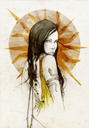 Arianne por Elia Fernandez©