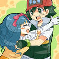 Ash and Dawn - anime-couples photo