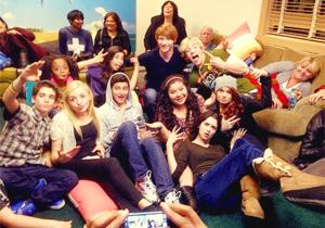 Austin & Ally with Jessie cast