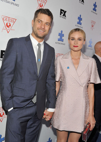Joshua Jackson wallpaper containing a business suit, a suit, and a three piece suit entitled Autism Speaks 2013 Blue Jean Ball