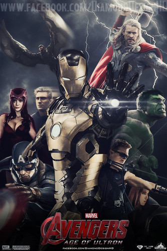 The Avengers wallpaper containing anime called Avengers: Age of Ultron (FAN MADE) Poster
