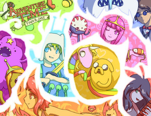 Awesome Adventure Time Pic