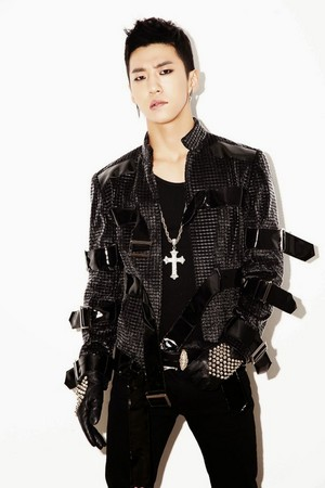 "B.A.P ""One Shot"" Jepun Single: Bang Yong Guk & Himchan Concept foto"