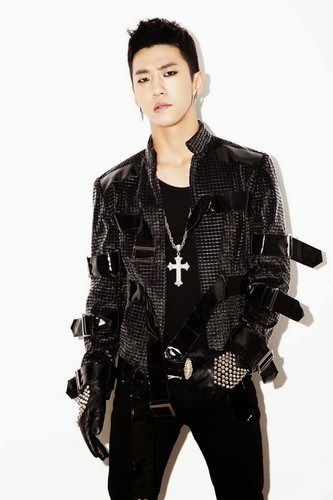 "B.A.P Обои containing a well dressed person called B.A.P ""One Shot"" Япония Single: Bang Yong Guk & Himchan Concept фото"
