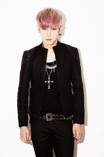"B.A.P 바탕화면 with a well dressed person and an outerwear entitled B.A.P ""One Shot"" 일본 Single: Bang Yong Guk & Himchan Concept 사진"